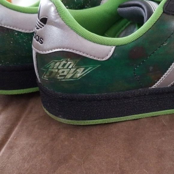 Adidas mountain dew limited edition shoes